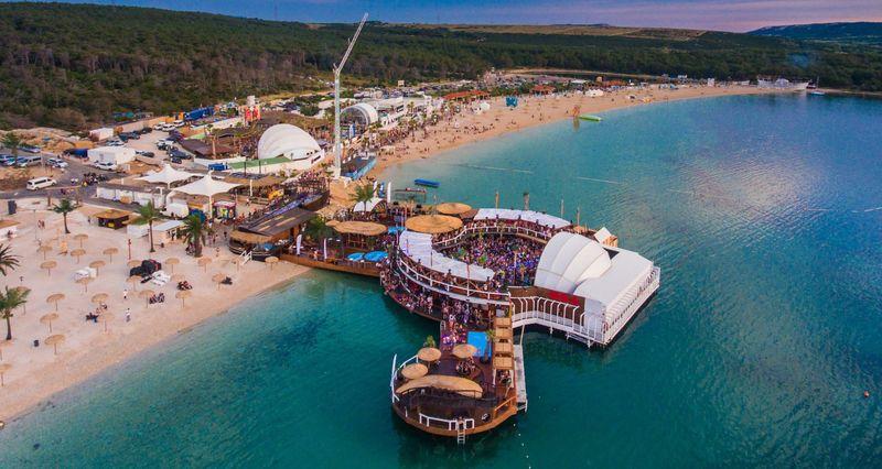 Zrce beach Croatia - Sonus Festival